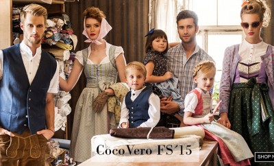 CocoVero Dirndl Kollektion 2015