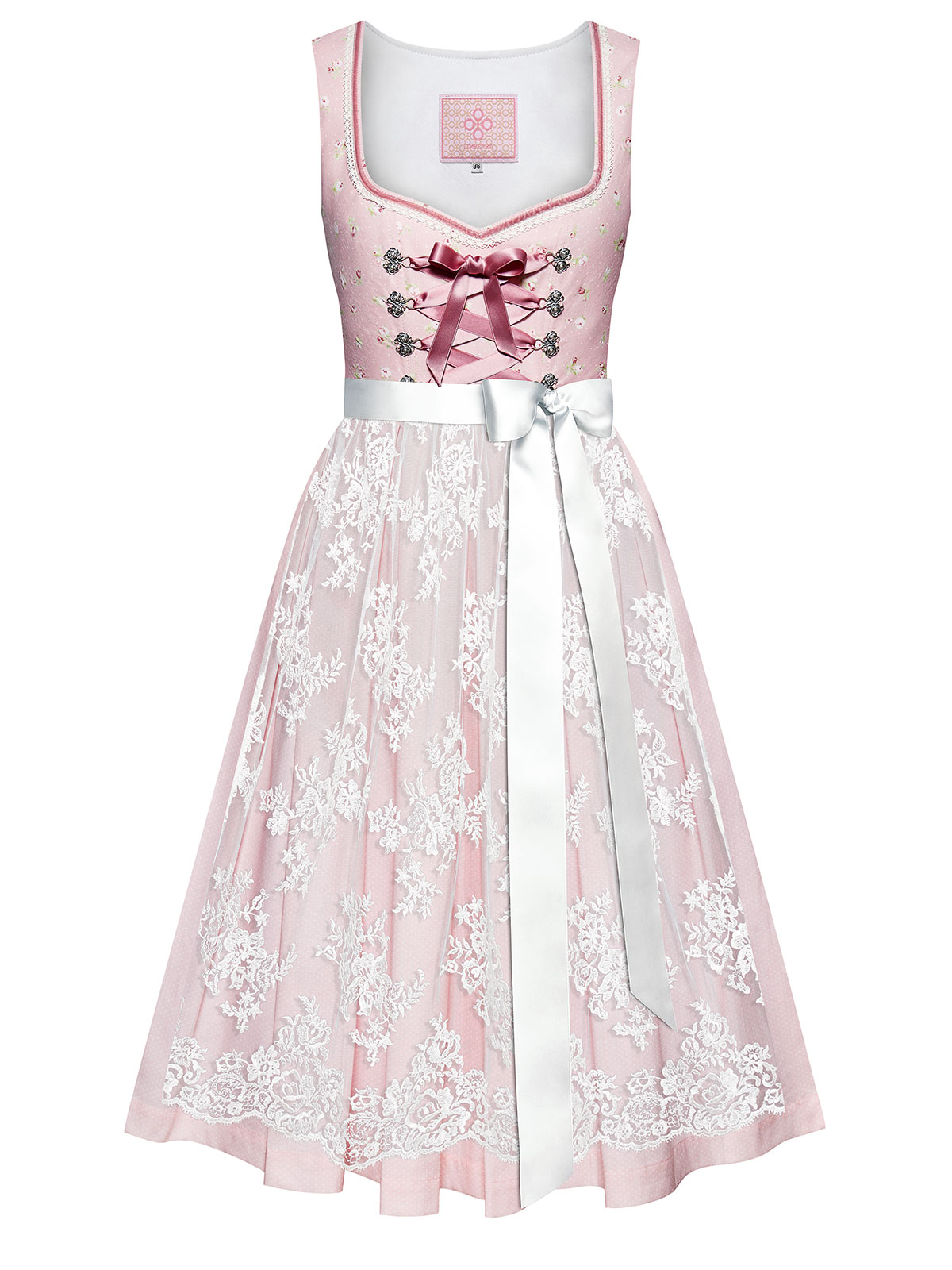 LIMBERRY Dirndl in Rosa