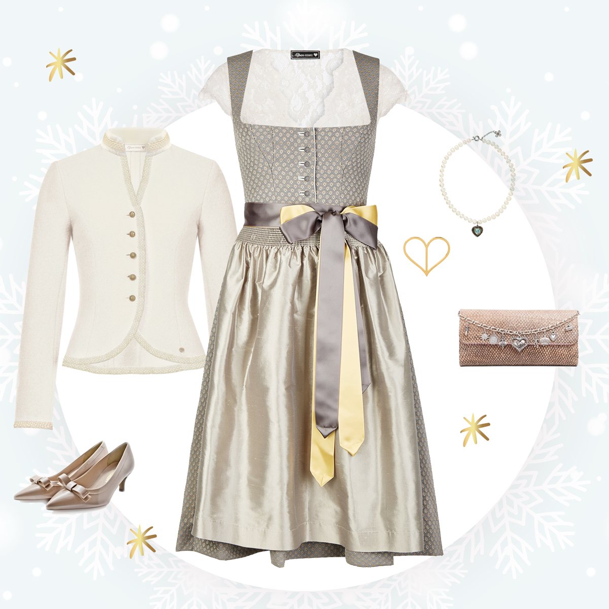 Festliches Dirndl-Outfit Amsel Fashion