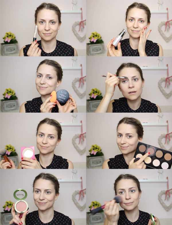 Dirndl Glamour Make-up Styling