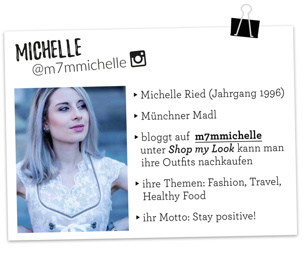 Dirndl Influencer Michelle Ried