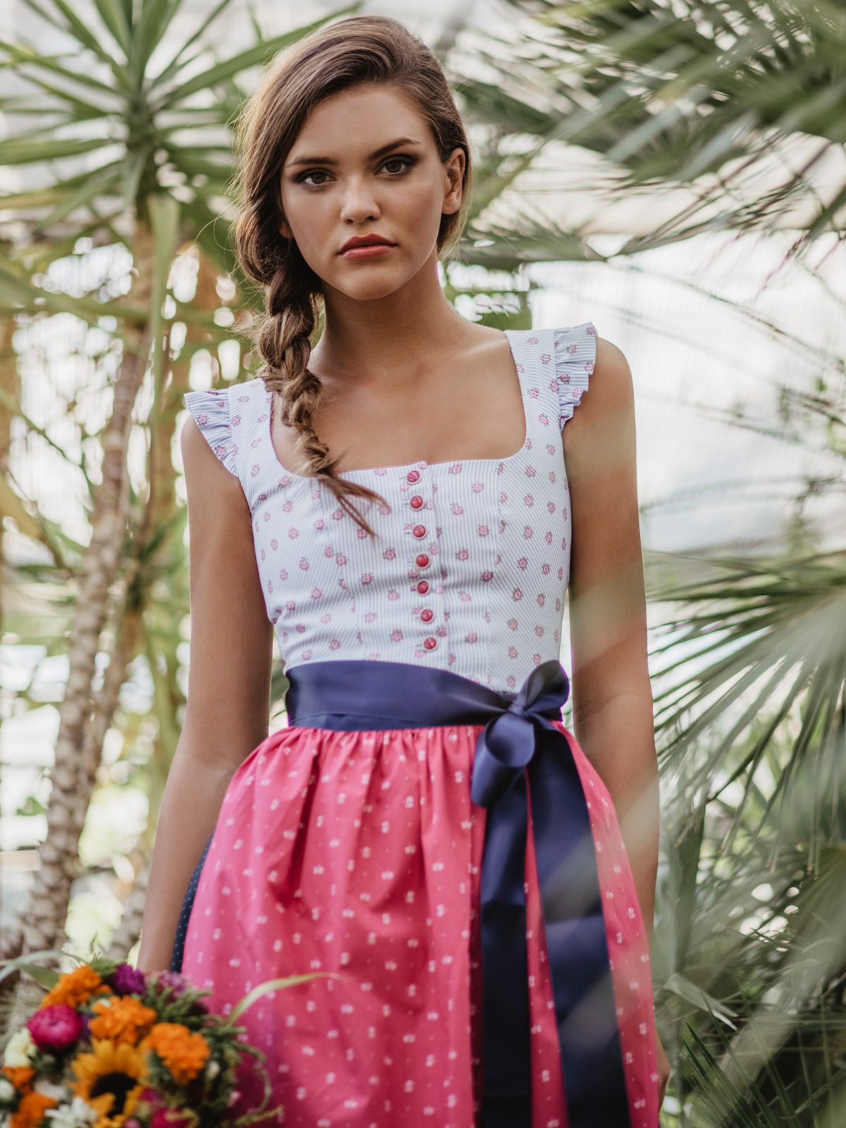 "Miss LIMBERRY Dirndl ""Emily blue"