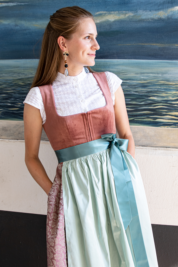 LIMBERRY Dirndl Hanna in pflaume